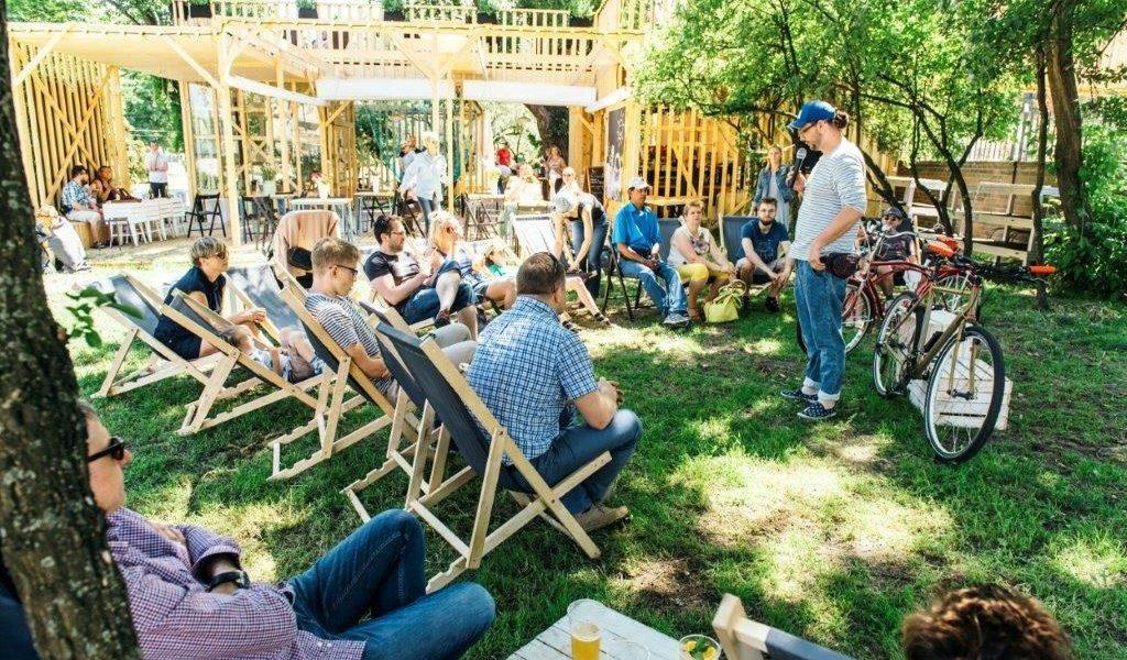 Pokój na lato – pawilon rekreacyjno-kulturalny