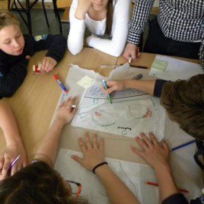 """Program dla żoliborskich szkół """"Kształtowanie przestrzeni"""""""