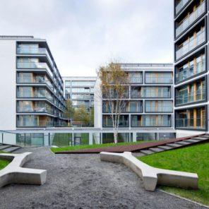 architektura mieszkaniowa – zespół, II nagroda, 19. Dzielnica, I Etap