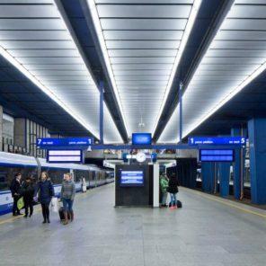 Umycie irewaloryzacja Dworca Centralnego