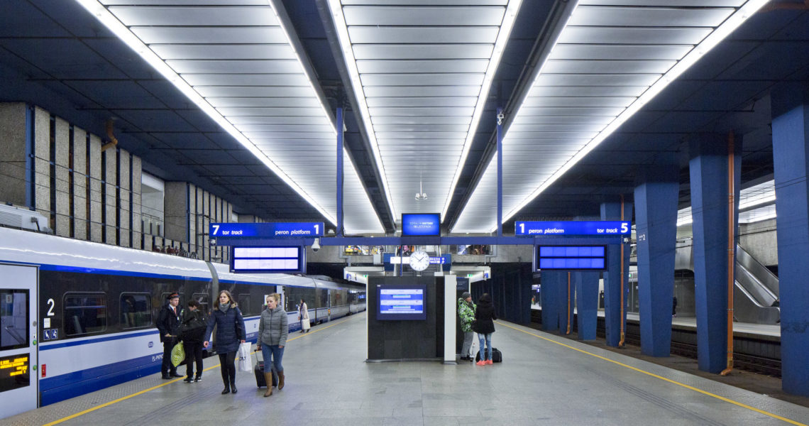 Umycie i rewaloryzacja Dworca Centralnego