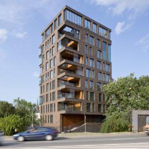 Latarnia – budynek mieszkalny zparterem usługowym