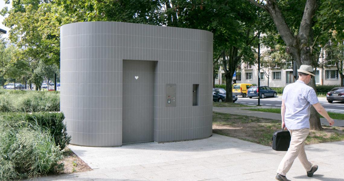 Automatyczne toalety miejskie