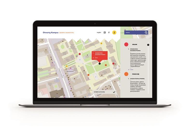 Otwarty Kampus Uniwersytetu Warszawskiego – przewodnik internetowy